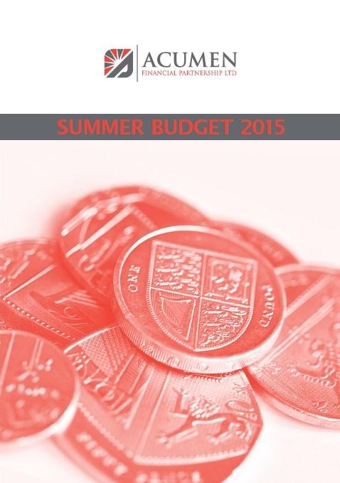 Acumen's Summary - Budget 2015