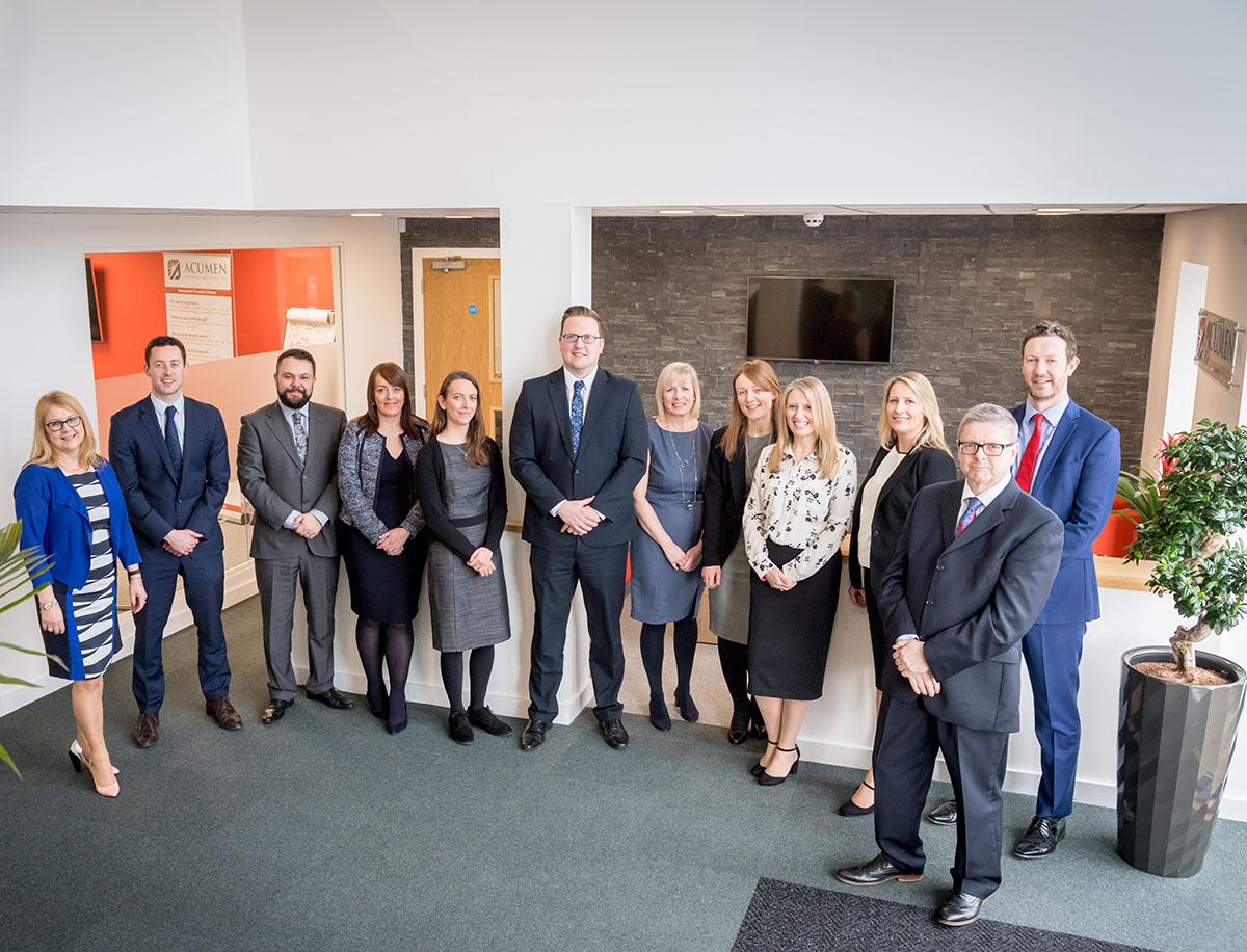 Acumen Equity Release team lancashire